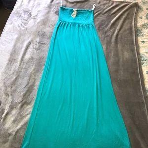 Papaya brand summer long  tube dress. Size S NWT